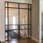 Stahl-Loft-Tür aus Wohnzimmer (Drehflügel)