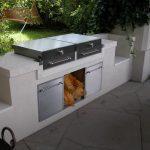Außenküche aus Edelstahl