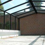 Glashaus Innenbereich