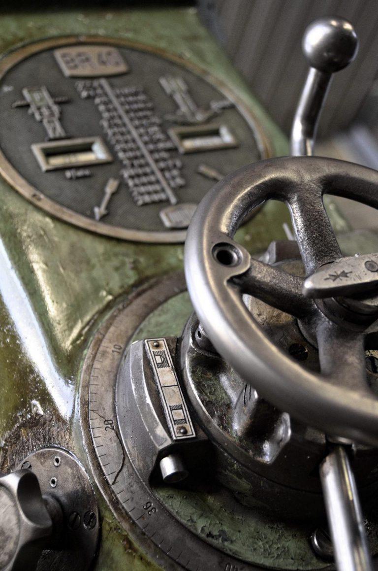 Radialbohrmaschine Detailfoto